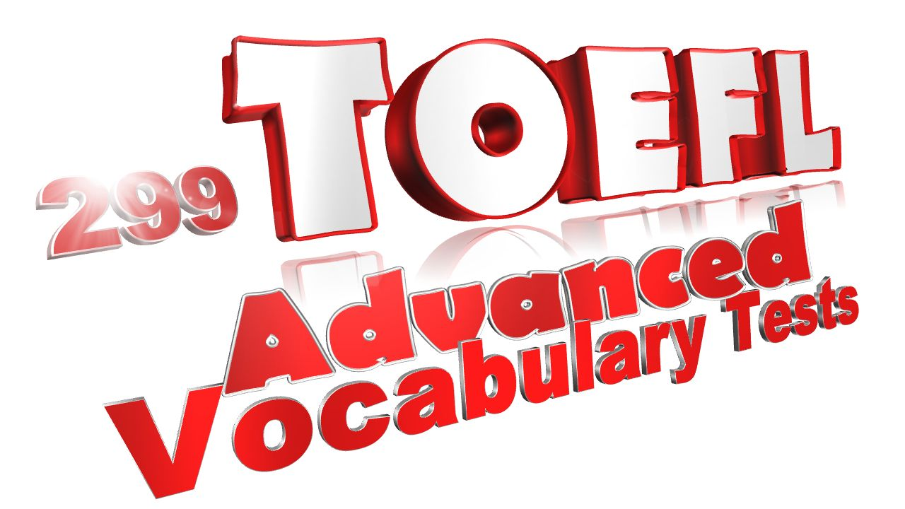 299 toefl vocab tests